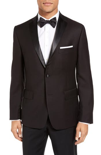 JB Britches Classic Fit Wool Dinner Jacket