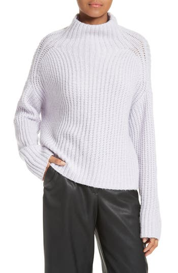 La Vie Rebecca Taylor Ribbed Turtleneck Sweater