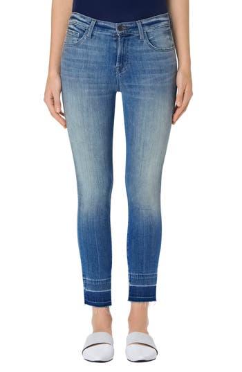 J Brand 835 Released Hem Crop Skinny Jeans (Corrupted)