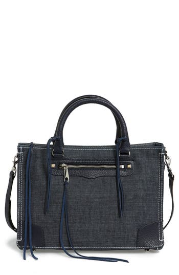 Rebecca Minkoff Regan Denim Satchel