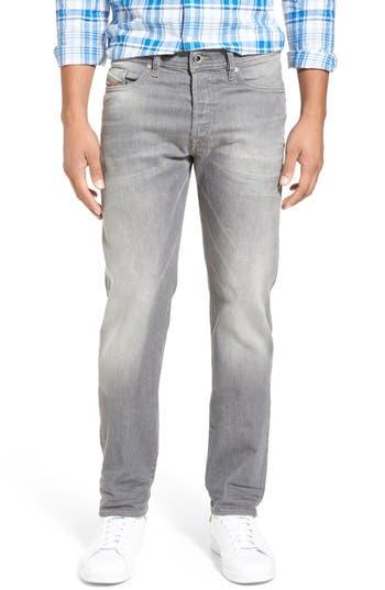 DIESEL® 'Buster' Slim Straight Leg Jeans (853T)