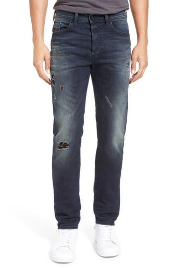 DIESEL® 'Buster' Slim Straight Leg Jeans (677K)