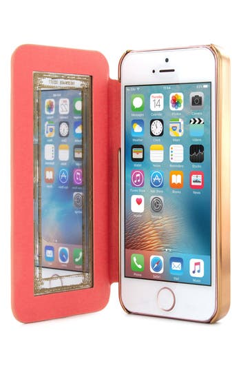 Ted Baker London Shannon iPhone SE Folio Case