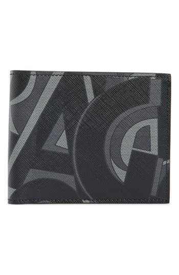 Salvatore Ferragamo 'Fusion' Leather Bifold Card Case