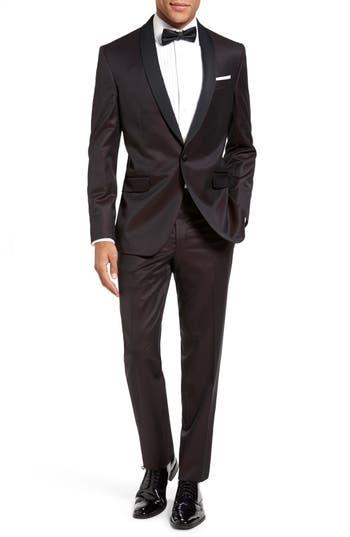 Ted Baker London 'Josh' Trim Fit Wool Tuxedo