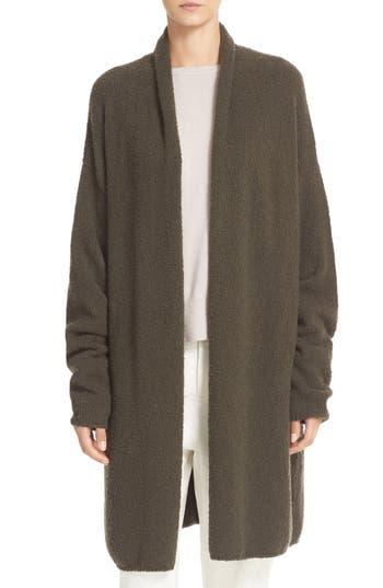 Vince Texture Wool Blend Shawl Cardigan