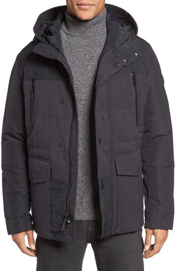 Michael Kors Hooded Down Jacket