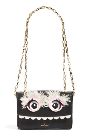 kate spade new york monster leather shoulder bag
