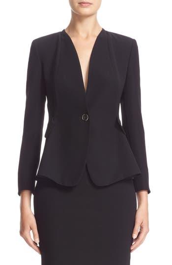 Armani Collezioni Tech Cady One-Button Jacket