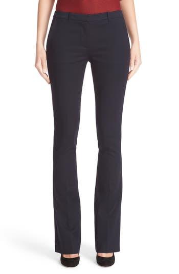 Armani Jeans Double Weave Stretch Satin Pants
