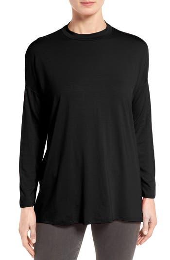 Eileen Fisher Lightweight Jersey Top (Regular & Petite)