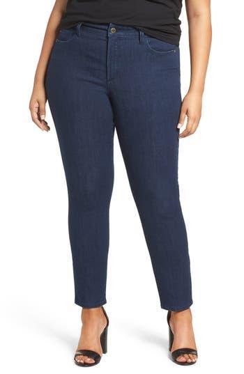 NYDJ Alina High Waist Stretch Skinny Jeans (Highpoint) (Plus)
