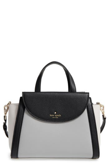 kate spade new york cobble hill - medium adrien leather satchel