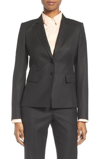 BOSS Jiwina Stretch Wool Jacket (Regular & Petite)