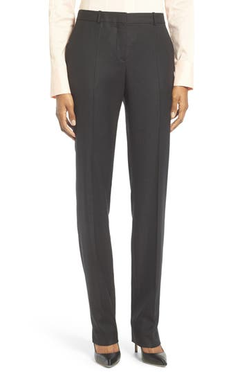 BOSS Tamea Stretch Wool Pants (Regular & Petite)
