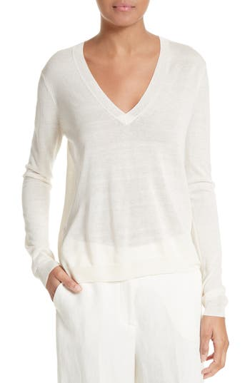 Theory Yulia Lightweight Silk Blend Sweater