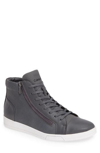 Calvin Klein 'Berke' Leather Sneaker (Men)
