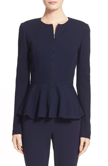 St. John Collection Piqué Milano Knit Jacket