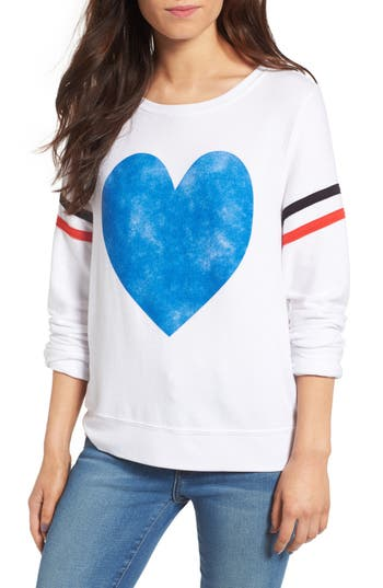 Wildfox Classic Heart Pullover