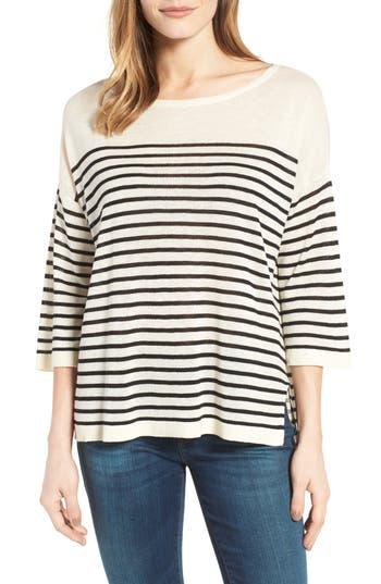 NYDJ Serra Stripe Sweater (Regular & Petite)