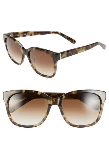 Bobbi Brown 'The Gretta' 56mm Colorblock Sunglasses