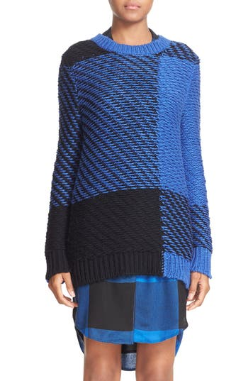 rag & bone Jessa Plaid Crewneck Sweater (Nordstrom Exclusive)