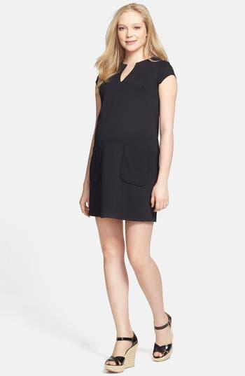 Maternal America Shift Maternity Dress