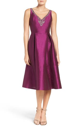 Adrianna Papell Casablanca Fit & Flare Dress