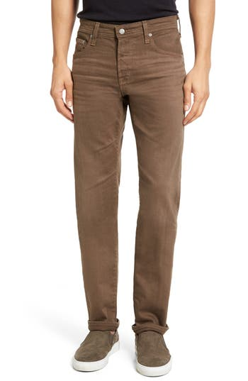AG Matchbox Slim Fit Jeans (2 Years Forest Brown)
