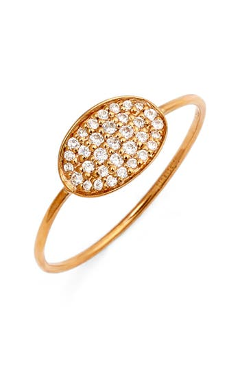 ginette ny 'Sequin' Mini Diamond Ring