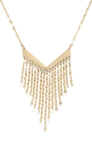 Lana Jewelry Petite Fringe Pendant Necklace