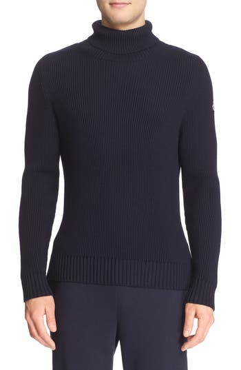 Moncler Ribbed Wool Turtleneck