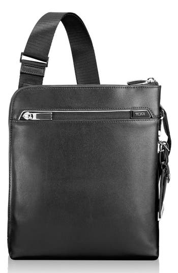 Tumi 'Arrivé - Owen' Leather Crossbody Bag