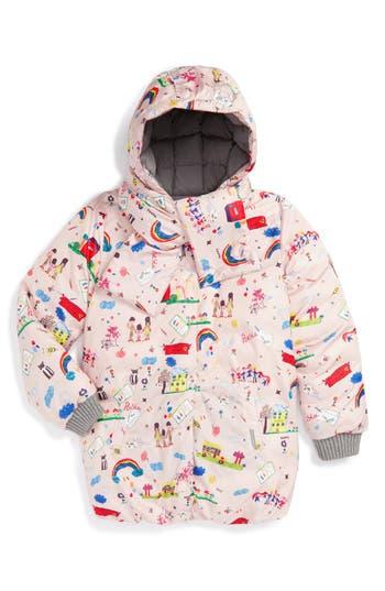 Dolce&Gabbana 'Disegni Bambina' Print Puffer Jacket (Toddler Girls, Little Girls & Big Girls)