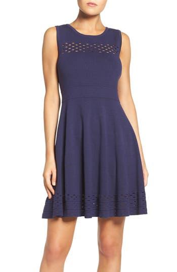 Chelsea28 Knit Fit & Flare Dress