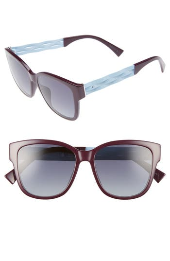 Dior Ribbon 55mm Sunglasses