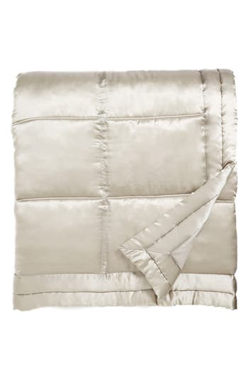 Donna Karan Collection 'Reflection' Silk Charmeuse Quilt