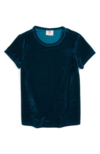h.i.p. Velvet Tee (Big Girls)