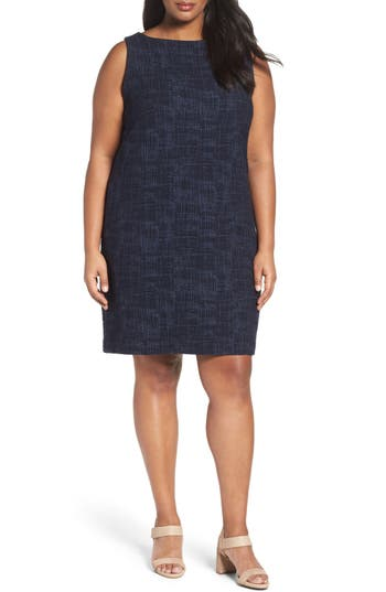 Eileen Fisher Stretch Knit Sheath Dress