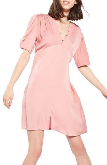 Topshop Jacquard Tea Dress