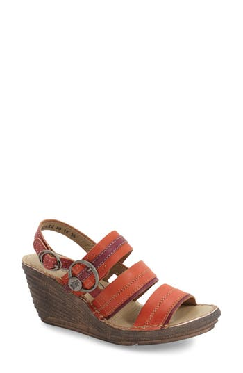 Fly London 'Salm' Wedge Sandal (Women)
