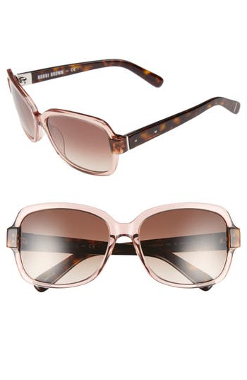 Bobbi Brown 'The Evelyn' 63mm Square Sunglasses