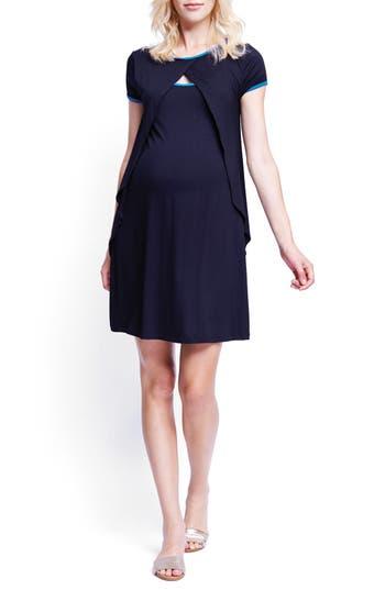 Maternal America Crossover Maternity/Nursing Dress