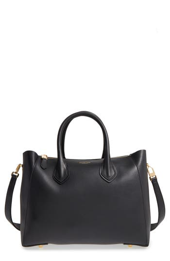 Michael Kors 'Large Helena' Leather Satchel