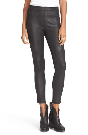 Free People Never Let Go Faux Leather Pants