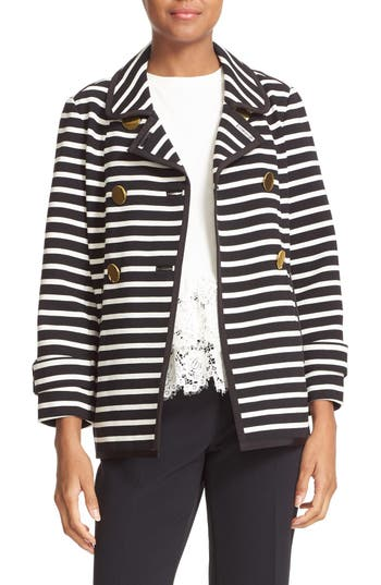 kate spade new york stripe jacket