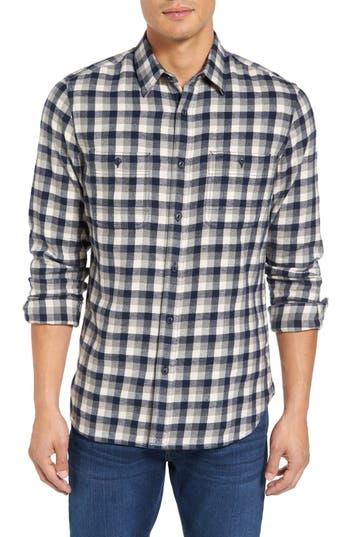 Nordstrom Men's Shop Workwear Slim Fit Flannel Shirt