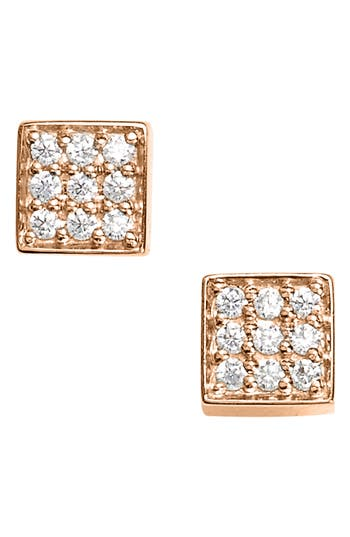 ginette ny Mini Diamond Ever Stud Earrings