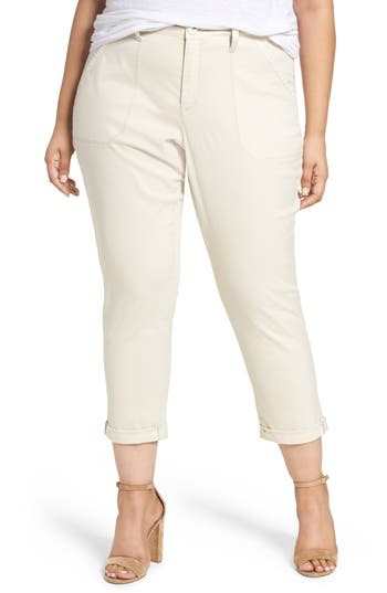 NYDJ Reese Relaxed Chino Pants (Plus Size)