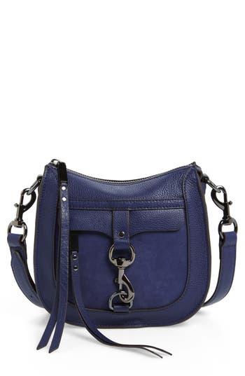 Rebecca Minkoff Dog Clip Leather & Suede Saddle Bag (Nordstrom Exclusive)